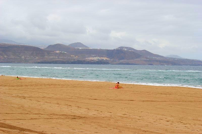 Gran Canaria plaża Las Palmas