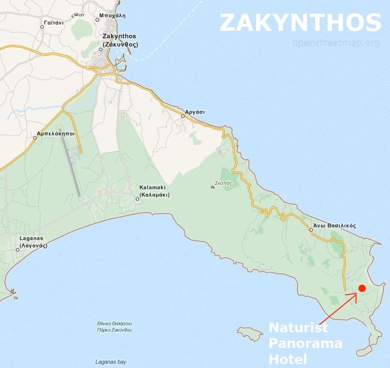 Naturyzm Hotel Zakynthos