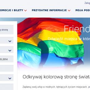 PLL LOT ma ofertę dla LGBT [wakacje dla gejów samolotem]