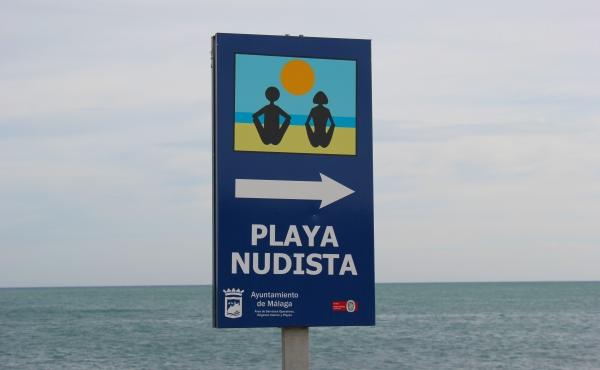 Plaża nudystów Malaga