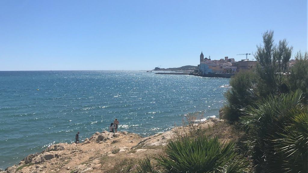 Plaża w Sitges, Barcelona