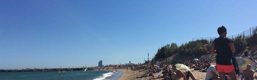 Plaża Mar Bella Barcelona